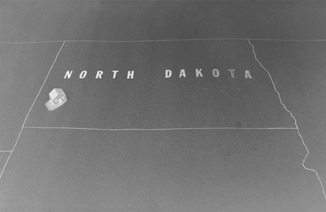 North Dakota Map